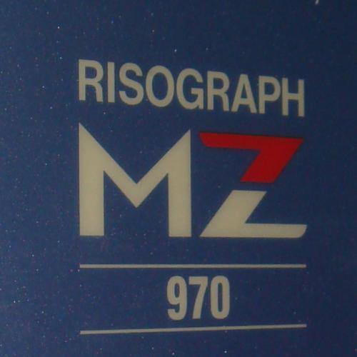 MÁY IN RISO MZ970